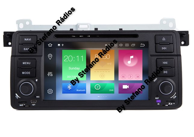 Auto Radio GPS BMW E81, E46 e E39, VW, Audi, Ford, Mercedes, OPEL