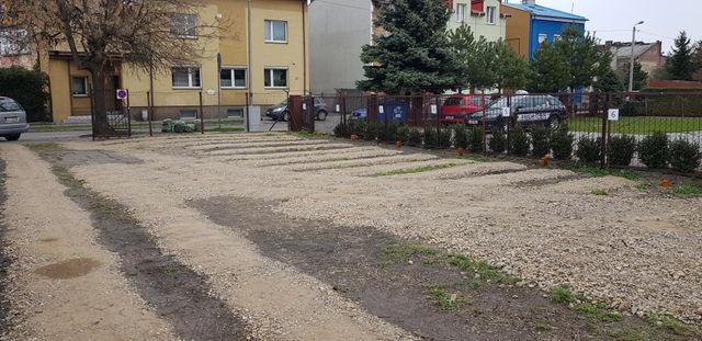 Miejsce parkingowe ul.Leśna