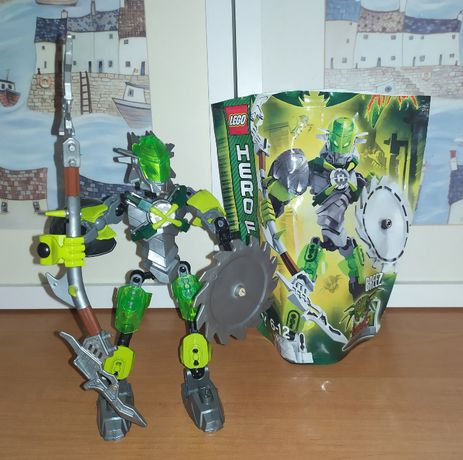 Zestaw Lego Hero Factory Breez 44006