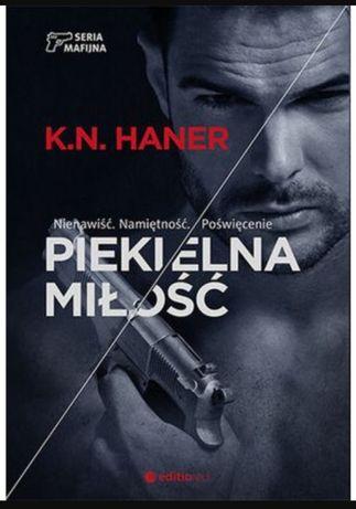 Piekielna miłość KN Haner TANIO Książka