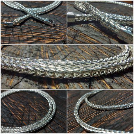 Серебряная цепочка КОЛОСОК в наличии