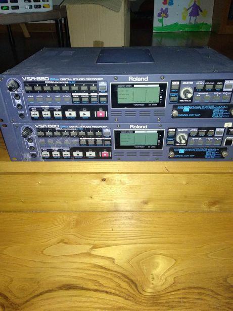 Roland VSR-880 24bit Gravador Digital Studio
