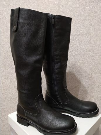 Зимние сапоги, кожаные сапоги, ботинки, ботильоны, ботфорты.
