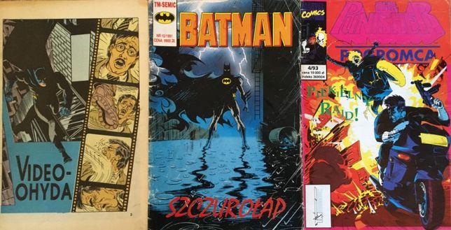Komiksy Batman Punisher TM-SEMIC - 3/1991, 10/1991, 4/1993