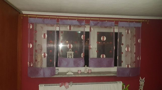 Panele do okna, fiolet.