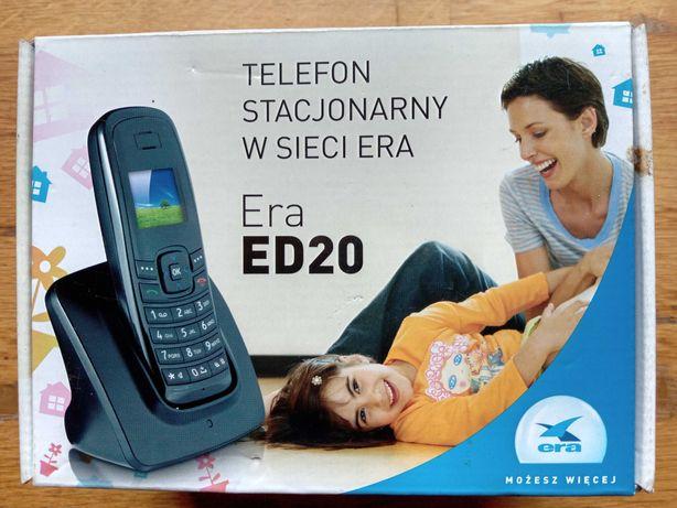 Telefon stacjonarny bezprzewodowy Era ED20, nowy, nierozpakowany