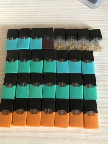 Пустые поды (картриджи) для Juul mint mango cream menthol tobacco