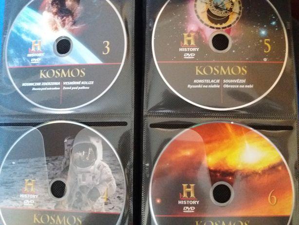 Kosmos Tajemnice Wszechświata - filmy DVD 1-20