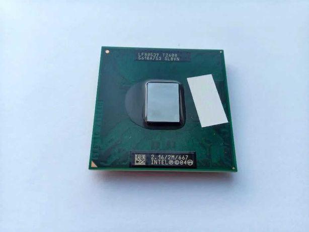 Двухъядерный процессор Intel Core Duo T2600 (Socket M)