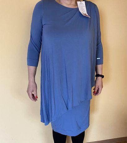 Sukienka Simple niebieska