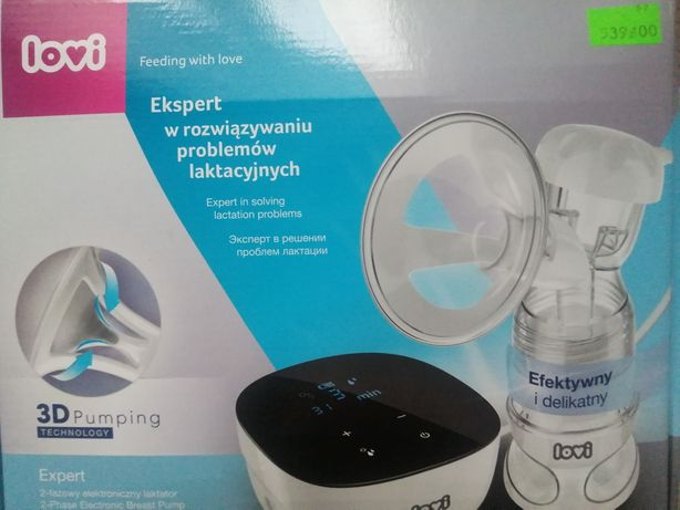 Laktator dwufazowy elektryczy / ręczny LOVI 3D pumping