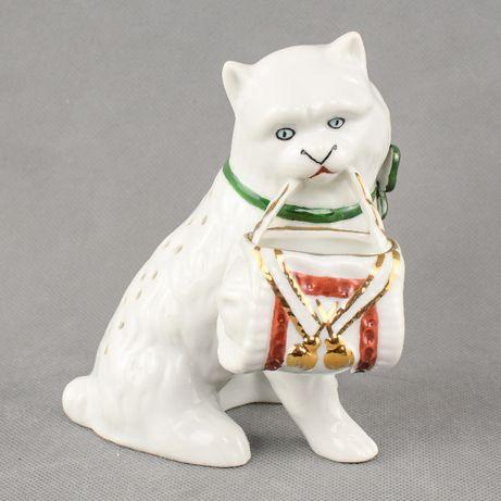 Paliteiro em porcelana em forma de gato SP Coimbra