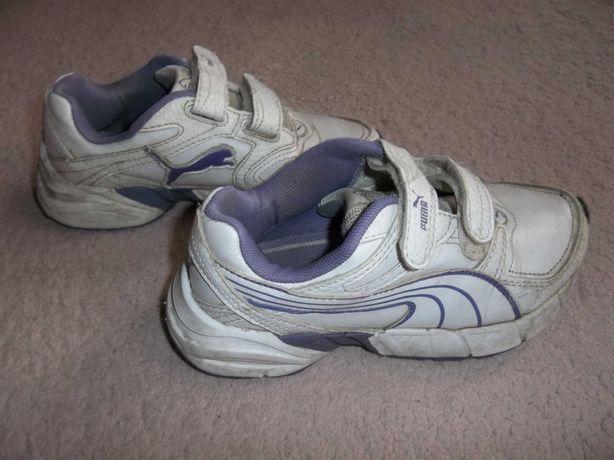 Модные кроссы Puma оригинал кожа на стопу 18,5-19,5см