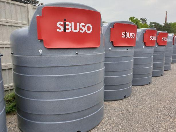 Zbiornik dwupłaszczowy do paliwa ON 2500l SIBUSO RATY!!