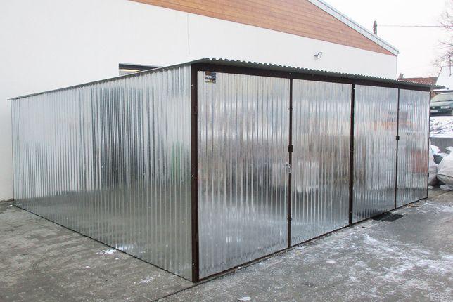 Garaże blaszane 6x5 Garaż Blaszany Blaszak ocynkowany