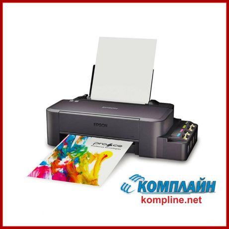 Принтер струйный Epson L120 с СНПЧ