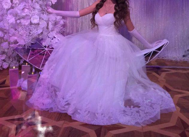 Свадебное платье/на выпускной