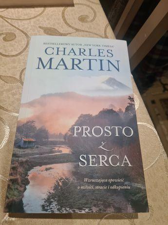 Książka Charles Martin prosto z serca