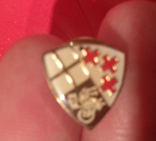 значок металл вроде германия какой то герб