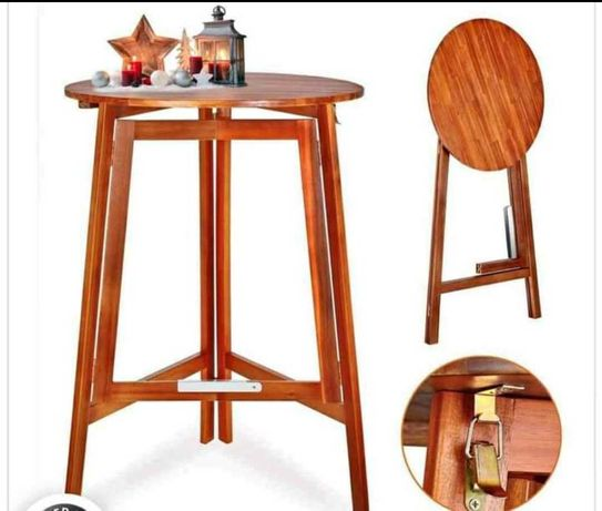 Stół barowy i krzesła