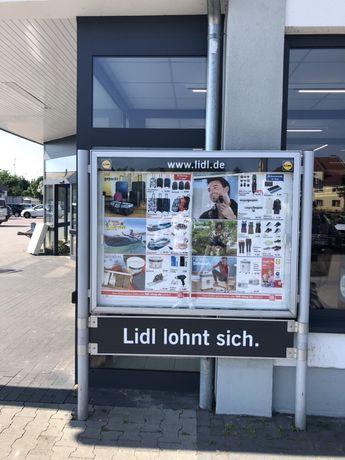 Baner reklama plafon 150x120 podświetlany