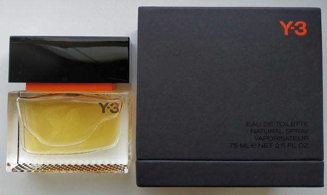 Yohji Yamamoto Y-3 Black Label для Adidas 75 ml