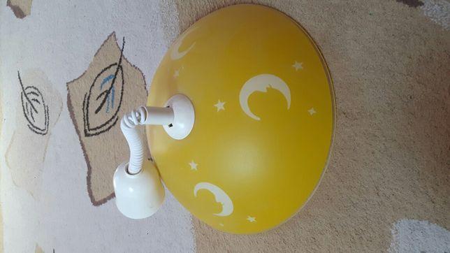 Lampa regulowana, zwijana, żyrandol regulowany.