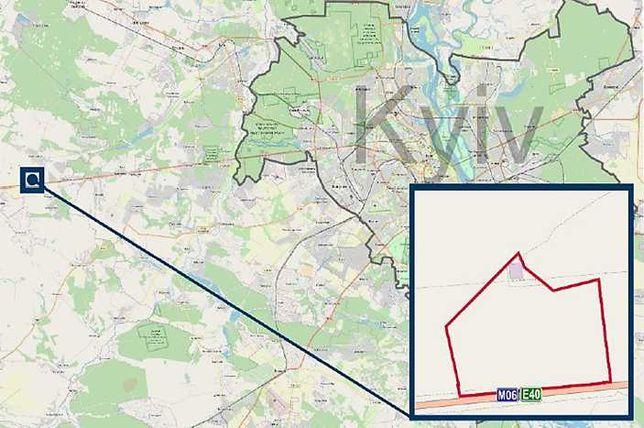 Продажа земли 57 га. в с.Колонщина,Житомирская трасса, 22 км. от Киева