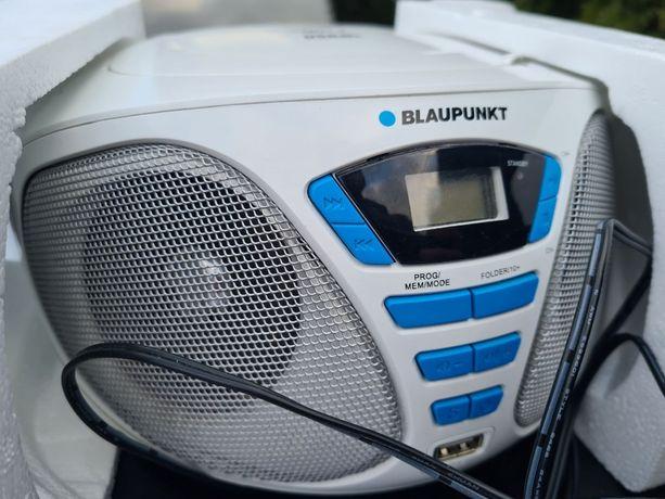 BLAUPUNKT BB5WH boombox CD usb mp3 białe radio odtwarzacz