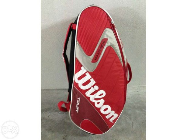 Kit raquete wilson [k] pro team.fx + saco wilson + prince