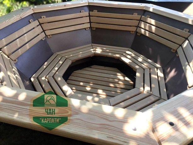 Чан Карпати молодильний для купання парення лазні Карпатский чан бани