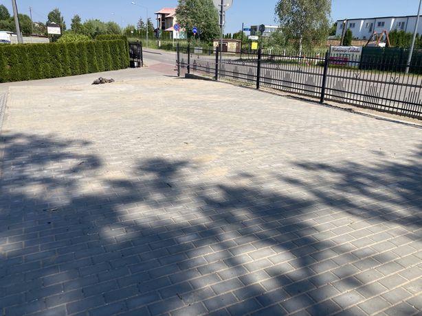 Plac teren pod usługi wynajem sezon 2021