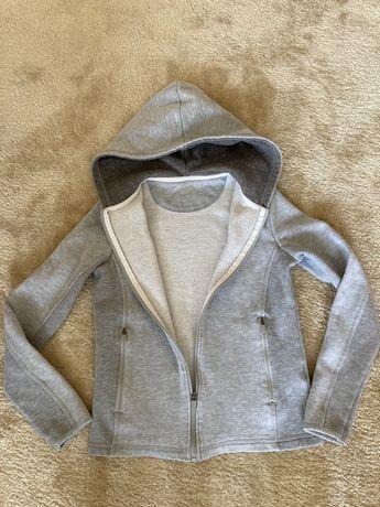 Bluza dziewczęca, szara, 152/156 XS firmy Iguana
