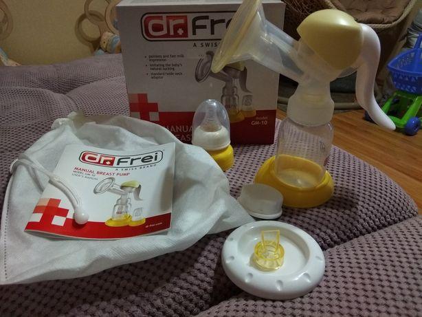 Молокоотсос механический dr.frei в отличном состоянии