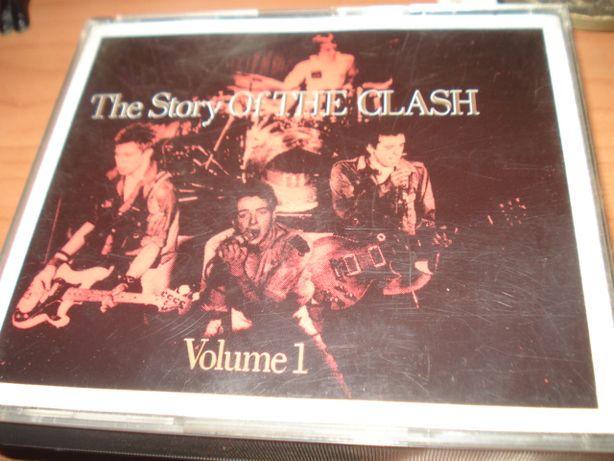 Album Duplo Antigo CD`s The Clash – The Story Of The Clash Volume 1