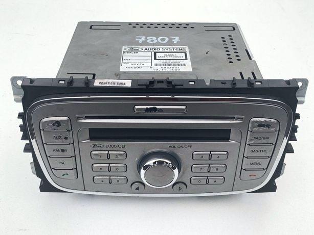 RADIO 6000CD Ford Mondeo mk4 S-MAX Galaxy Focus mk2 LIFT 6000 CD