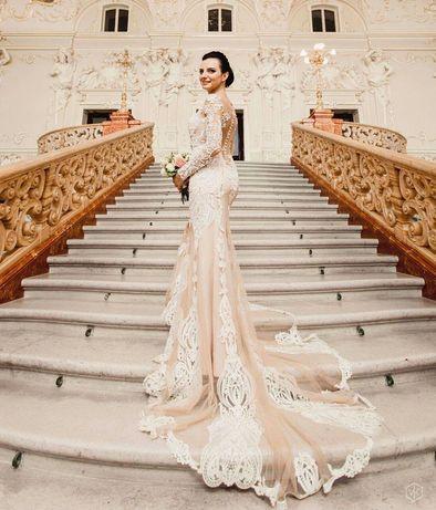 Экслюзивное свадебное платье