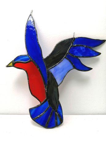 Kolekcjonerski Witraż Tiffany - Ptak
