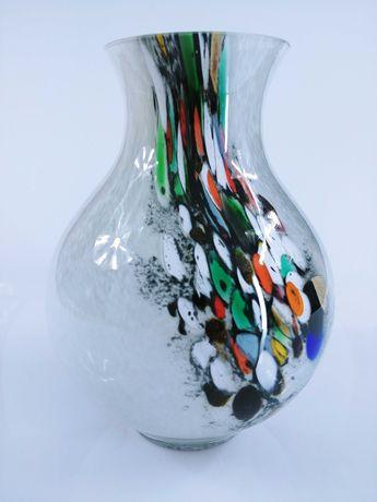 Szklany wazon – Klasyk fantazja kolorów