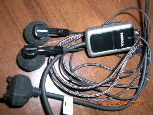 słuchawki przewodowe NOKIA N73 czarne nieużywane komórka
