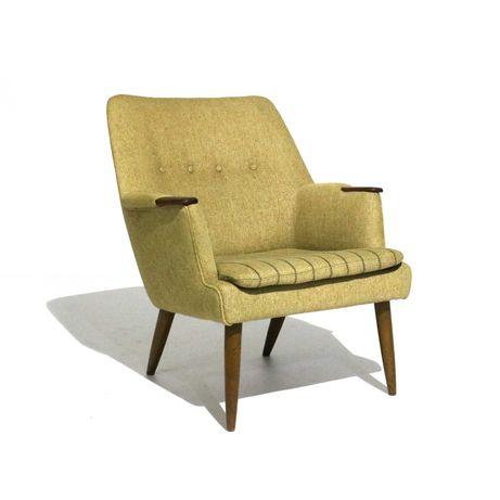 Poltrona dinamarquesa da década de 1960 | Mobiliário Vintage