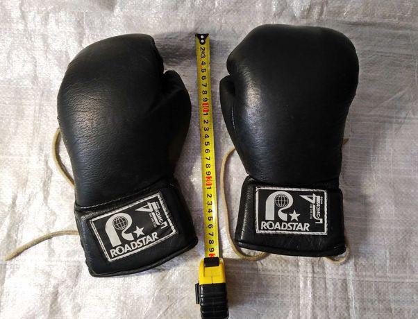 Боксерские перчатки . кожа , хорошее состояние  недорого