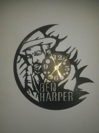 Relógio de Parede em Vinil - BEN HARPER