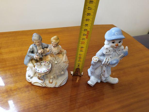 Figurki porcelanowe Retro vintage