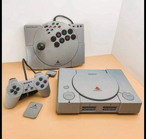 PlayStation 1 - Como Nova!!!