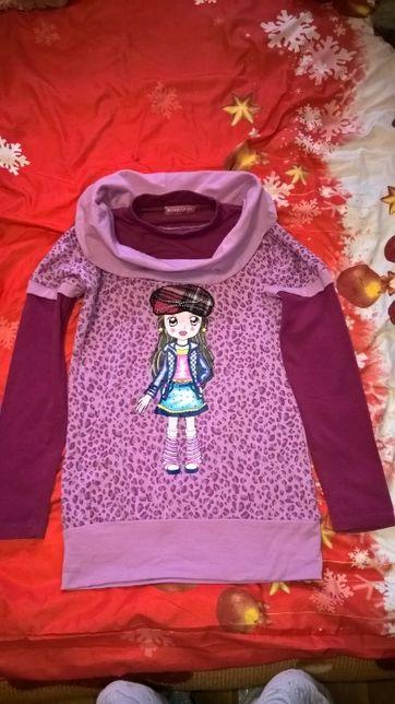 Bluza dziewczęca wiek około 10 lat