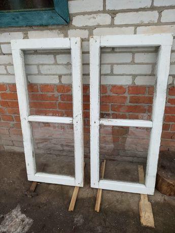 Продам деревянные окна дёшево!
