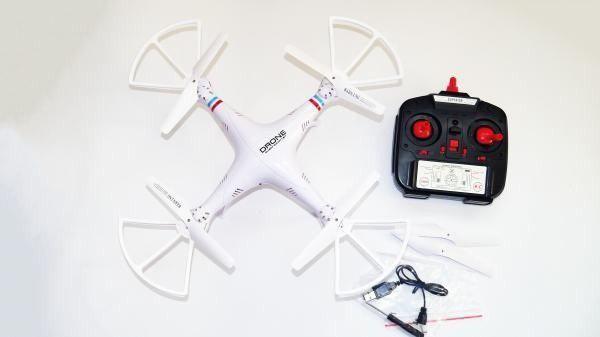 Камера - HD 720p / (6-ти осевой) / Квадрокоптер / 1000000 (320 х 320 м