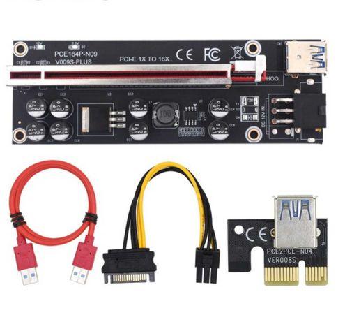 Riser 010S PLUS - Mining Ethereum Adaptador PCI-E 009 - NOVO SELADO