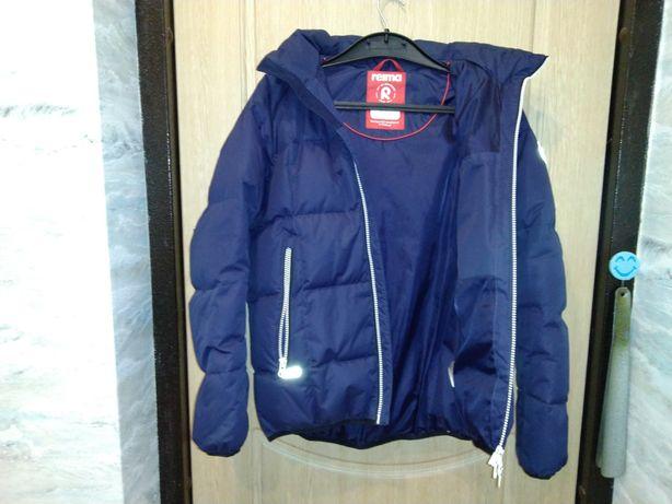 Куртка пуховик Reima Jord 531359-6980  на мальчика 12-14 лет рост 152
